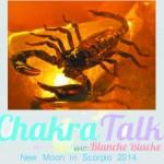 Chakra Talk Moon in Scorpio 2014